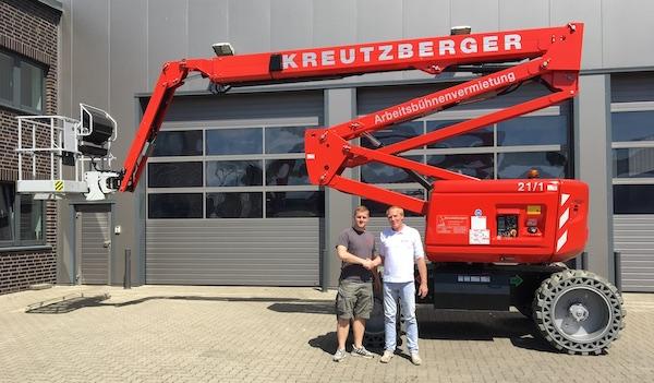 Neu im Norden: Kreutzberger vermietet Haulotte HA20 LE